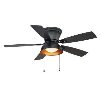 Banneret  52 in. LED Natural Iron Ceiling Fan with Light