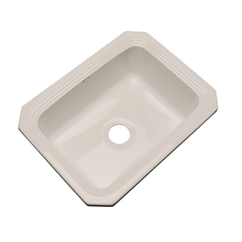 Thermocast Rochester Undermount Acrylic 25 in. Single Bowl Kitchen Sink in Shell