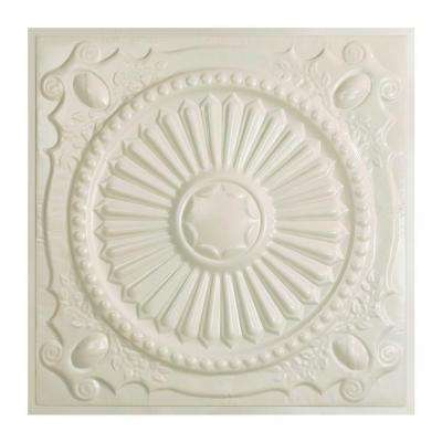 Toronto 2 ft. x 2 ft. Lay-in Tin Ceiling Tile in Antique White