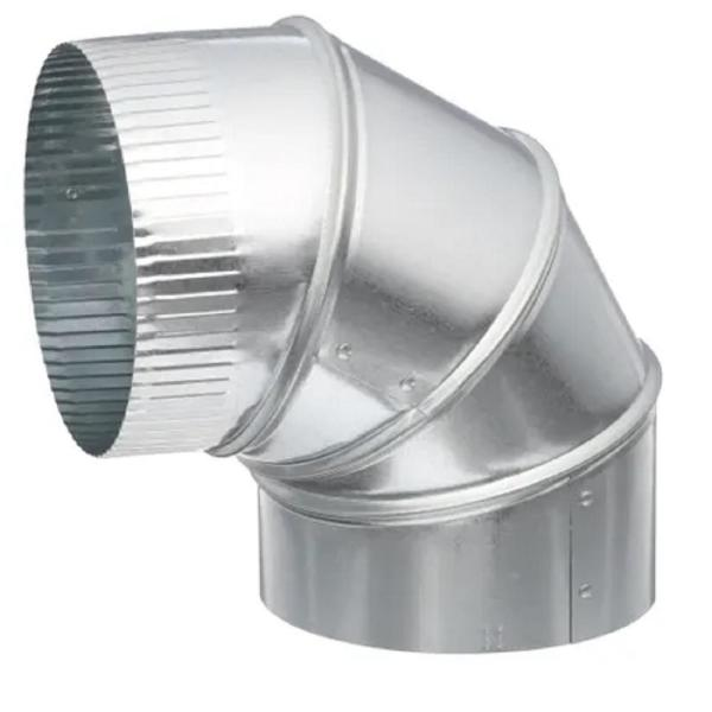 Speedi-Products SM-26A90 05 5-Inch 26-Gauge 90-Degree Round Adjustable Elbow