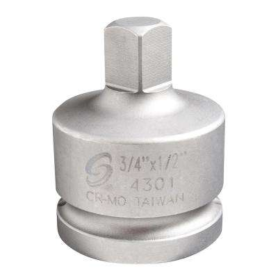 3/4 in. Female 1/2 in. Male Socket Adapter