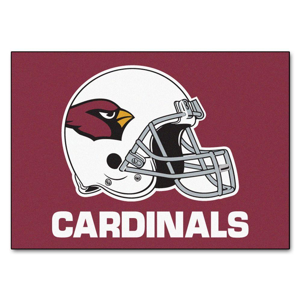 FANMATS Arizona Cardinals 2 ft. 10 in. x 3 ft. 9 in. All-Star Rug