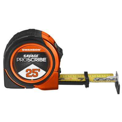 25 ft. Savage Proscribe Tape Measure