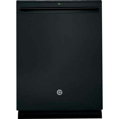 Adora Top Control Built-In Tall Tub Dishwasher in Black with Stainless Steel Tub and Steam Prewash