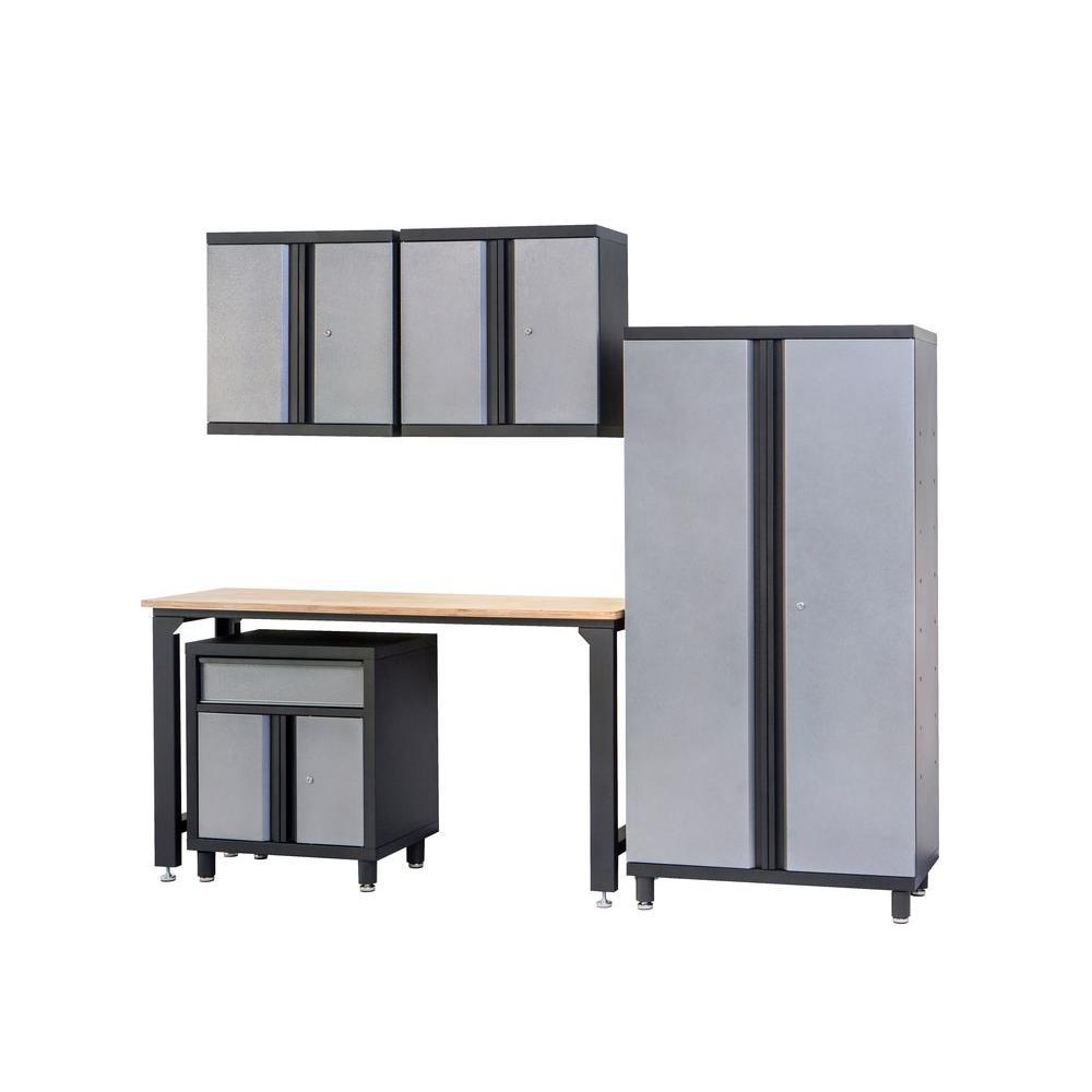 Duracabinet All Steel 100 In W X 74 In H X 20 In D Garage Storage
