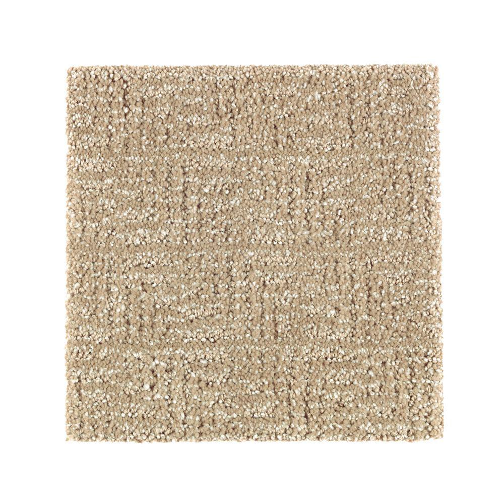 Petproof carpet sample scarlet color carrington beige for Pet resistant carpet