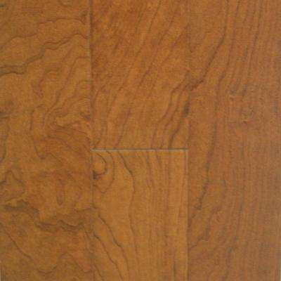 American Cherry Mocha 3/8 in. Thick x 4-1/4 in. Wide x Random Length Engineered Click Hardwood Flooring (20 sq.ft./case)