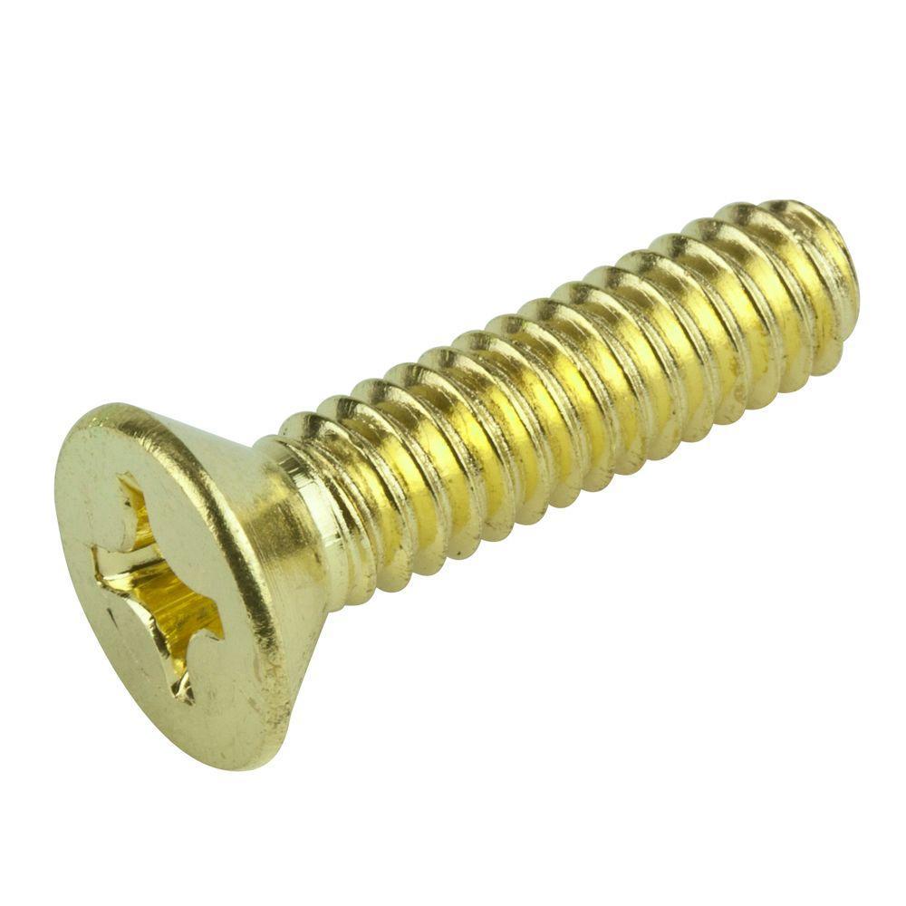 3/8 in 1 in.Phillips Flat-Head Machine Screw