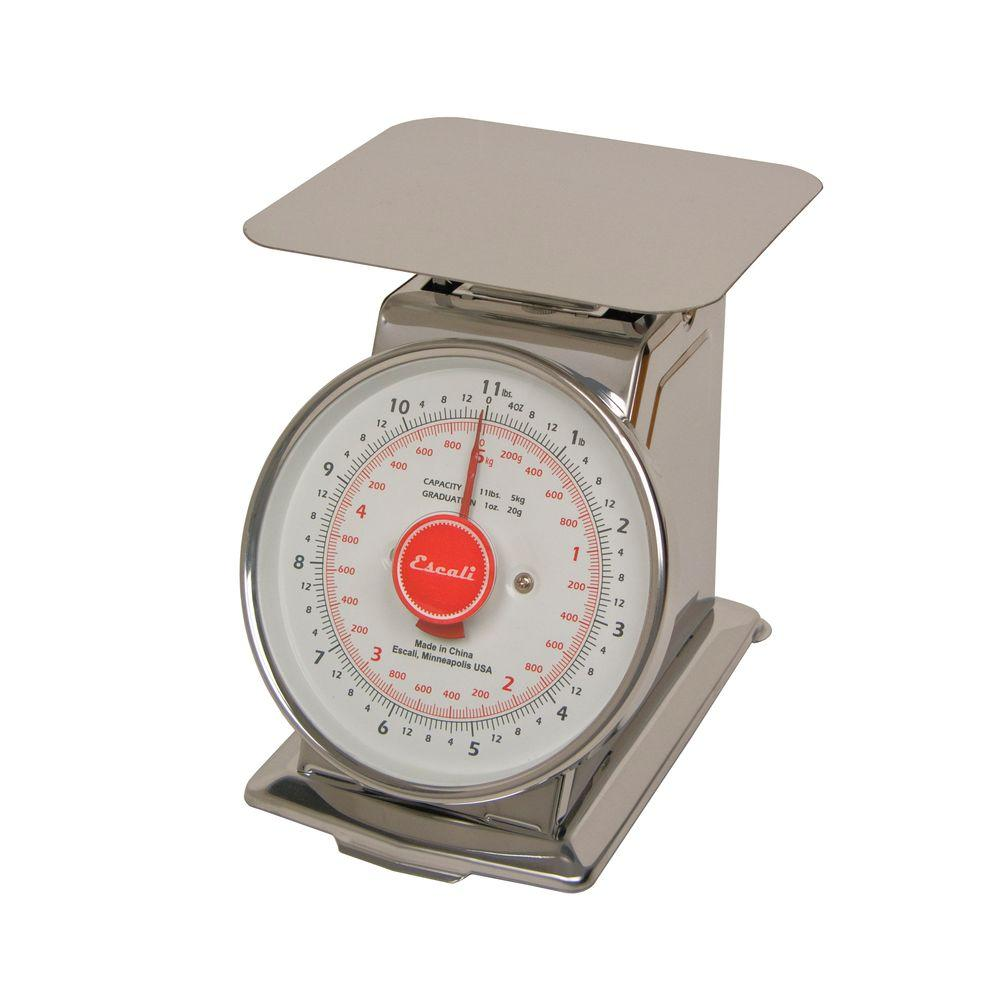 Escali 11 lb. Mercado Dial Food Scale with Plate-DISCONTINUED