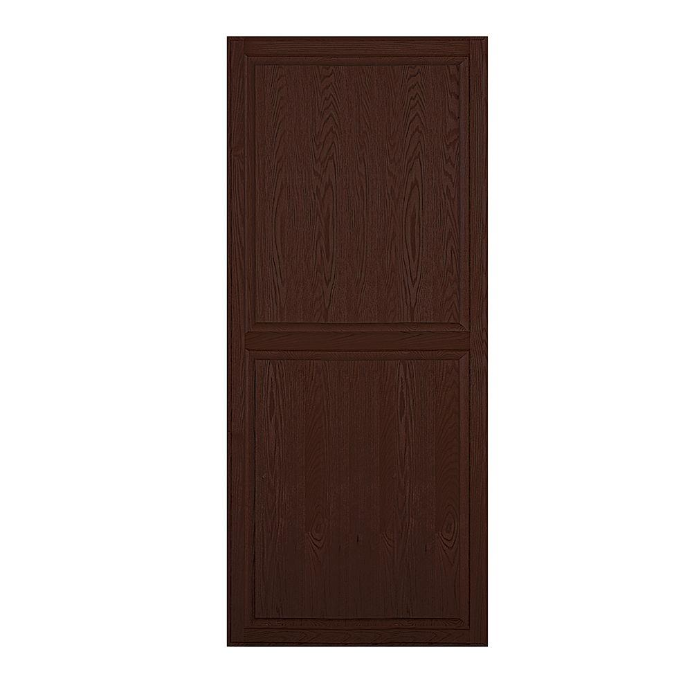 Solid Oak Double End Side Panel for 18 in. D Executive