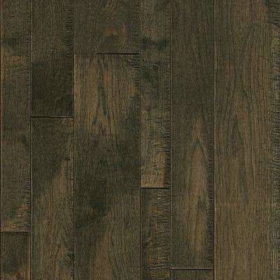 Take Home Sample - Hickory Smoke Run Solid Hardwood Flooring - 5 in. x 7 in.
