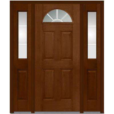 64 in. x 80 in. Internal Grilles Right-Hand 1/4-  sc 1 st  Home Depot & Right-Hand/Inswing - MMI Door - Doors \u0026 Windows - The Home Depot