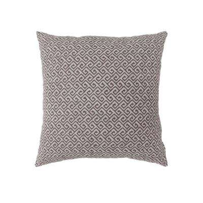 Ricki 22 in. Contemporary Standard Throw Pillow in Brown