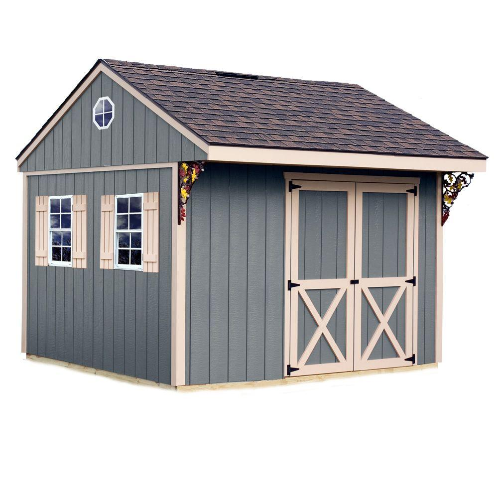 Best Barns Northwood 10 ft. x 10 ft. Wood Storage Shed Kit with Floor