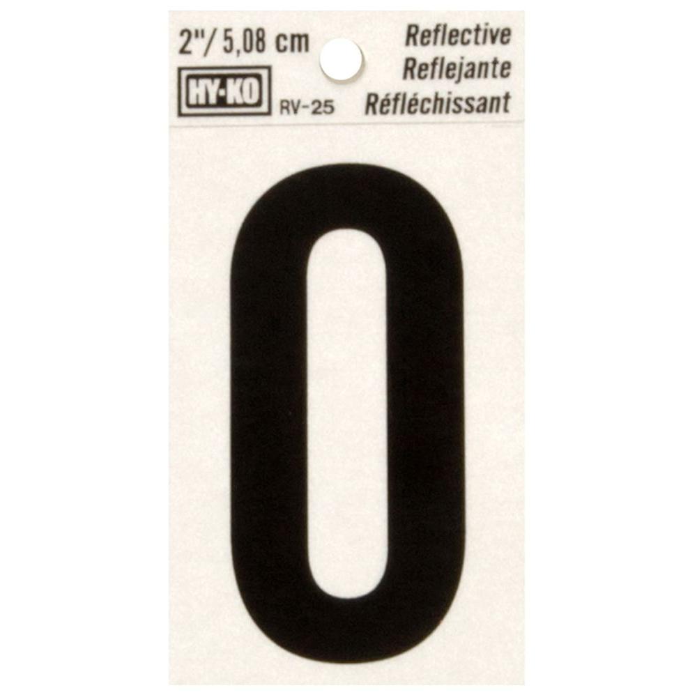 Vinyl self adhesive letter o