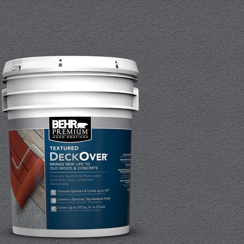 Behr Premium Textured Deckover 5 Gal Pfc 65 Flat Top Solid Color