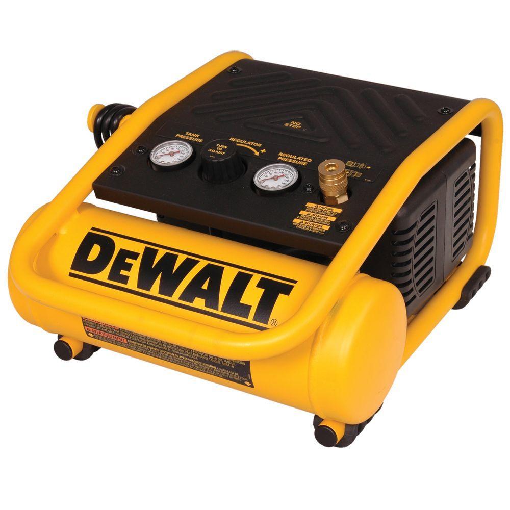 Dewalt 1 Gal. Portable Electric Trim Air Compressor by DEWALT