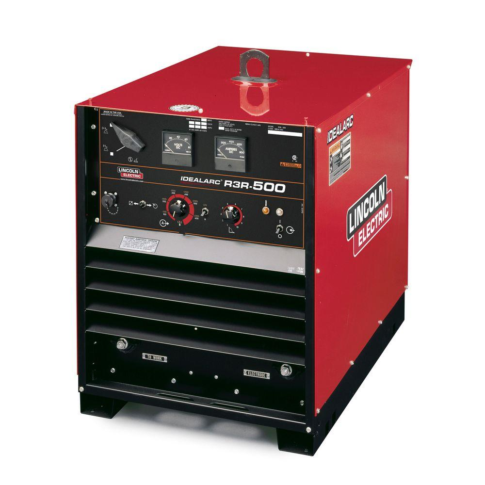 Lincoln Electric 625 Amp Idealarc R3R-500 Stick/TIG Welde...