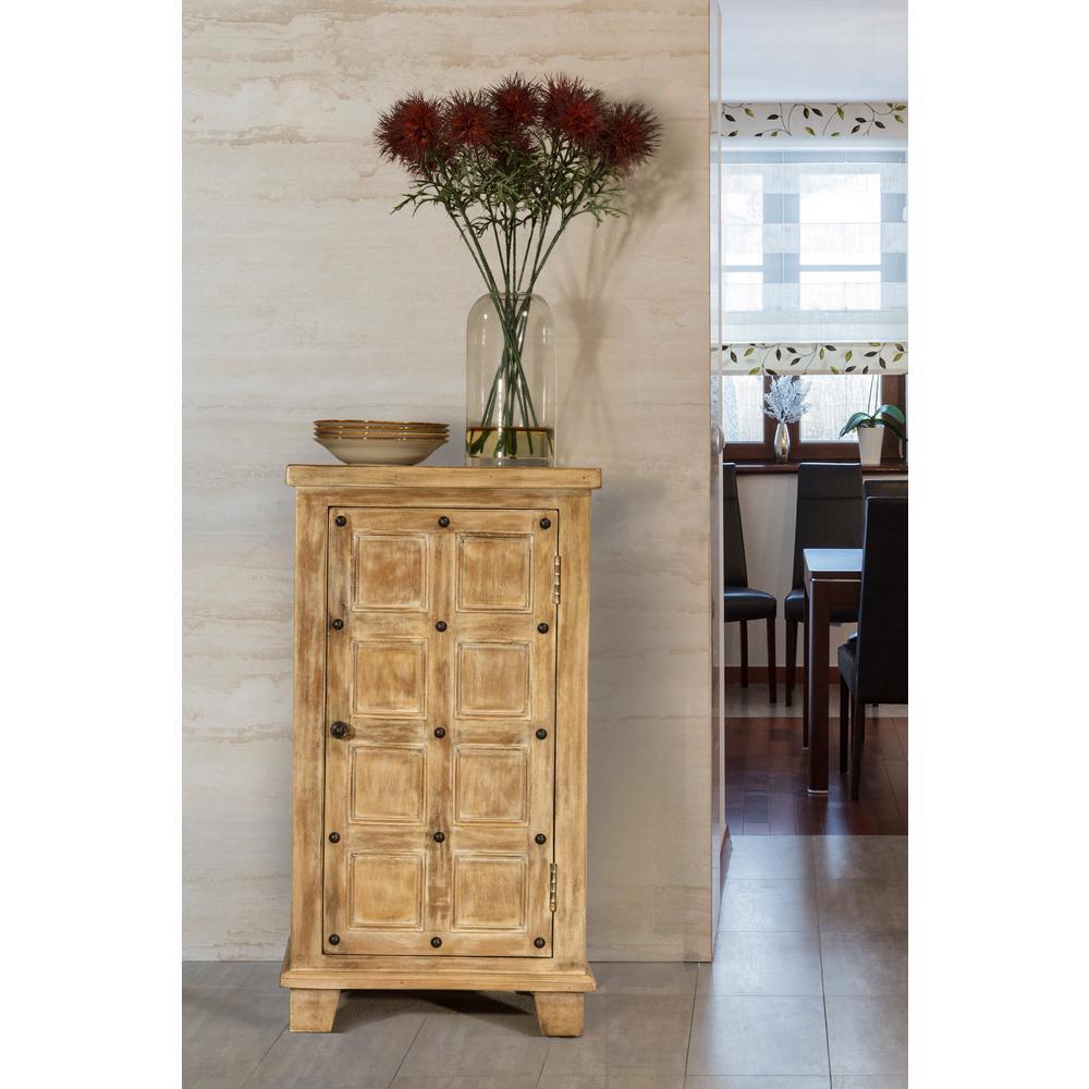 Exceptional Hillsdale Furniture Millstone Antique Beige Storage Cabinet