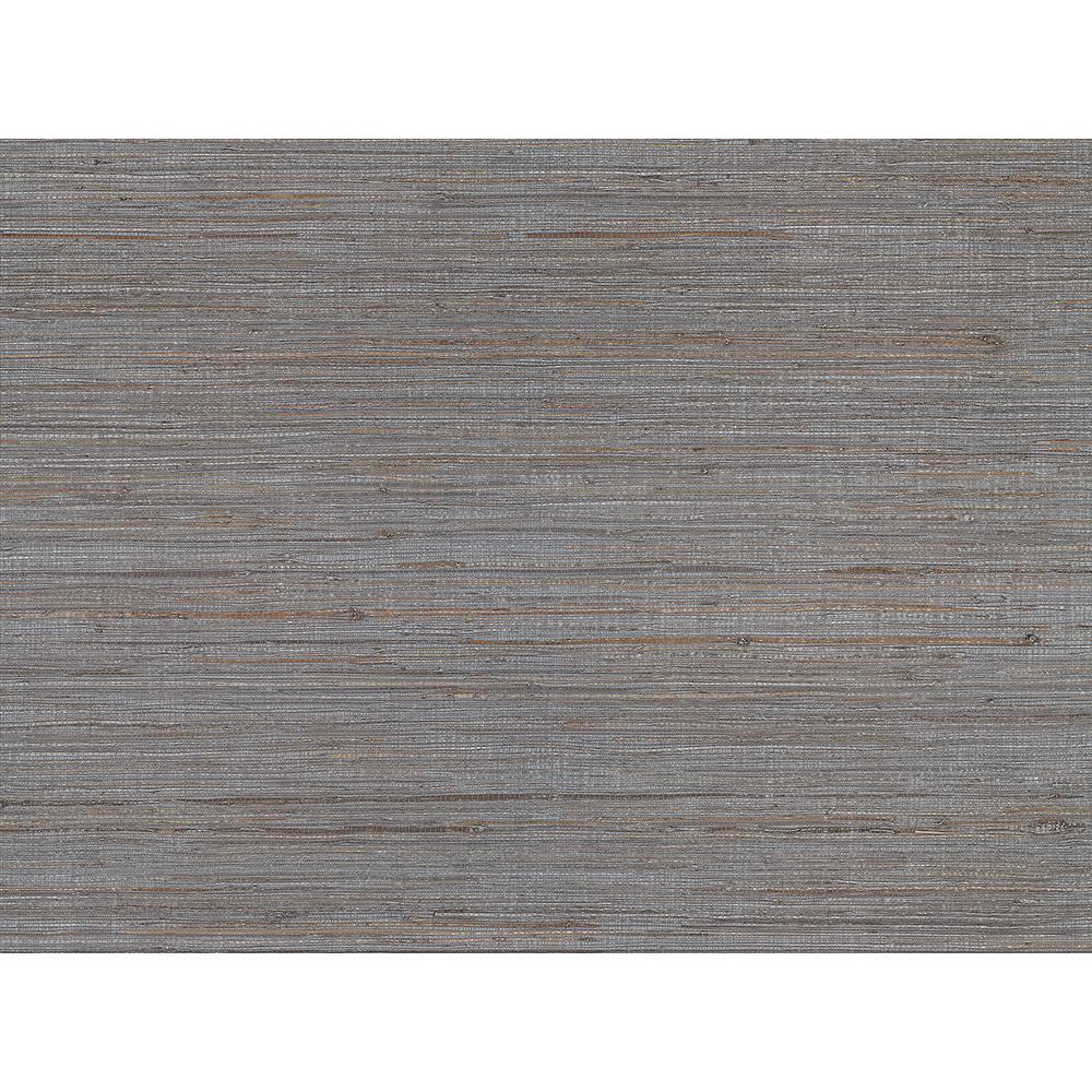 72 sq. ft. Shandong Slate Ramie Grass Cloth Wallpaper