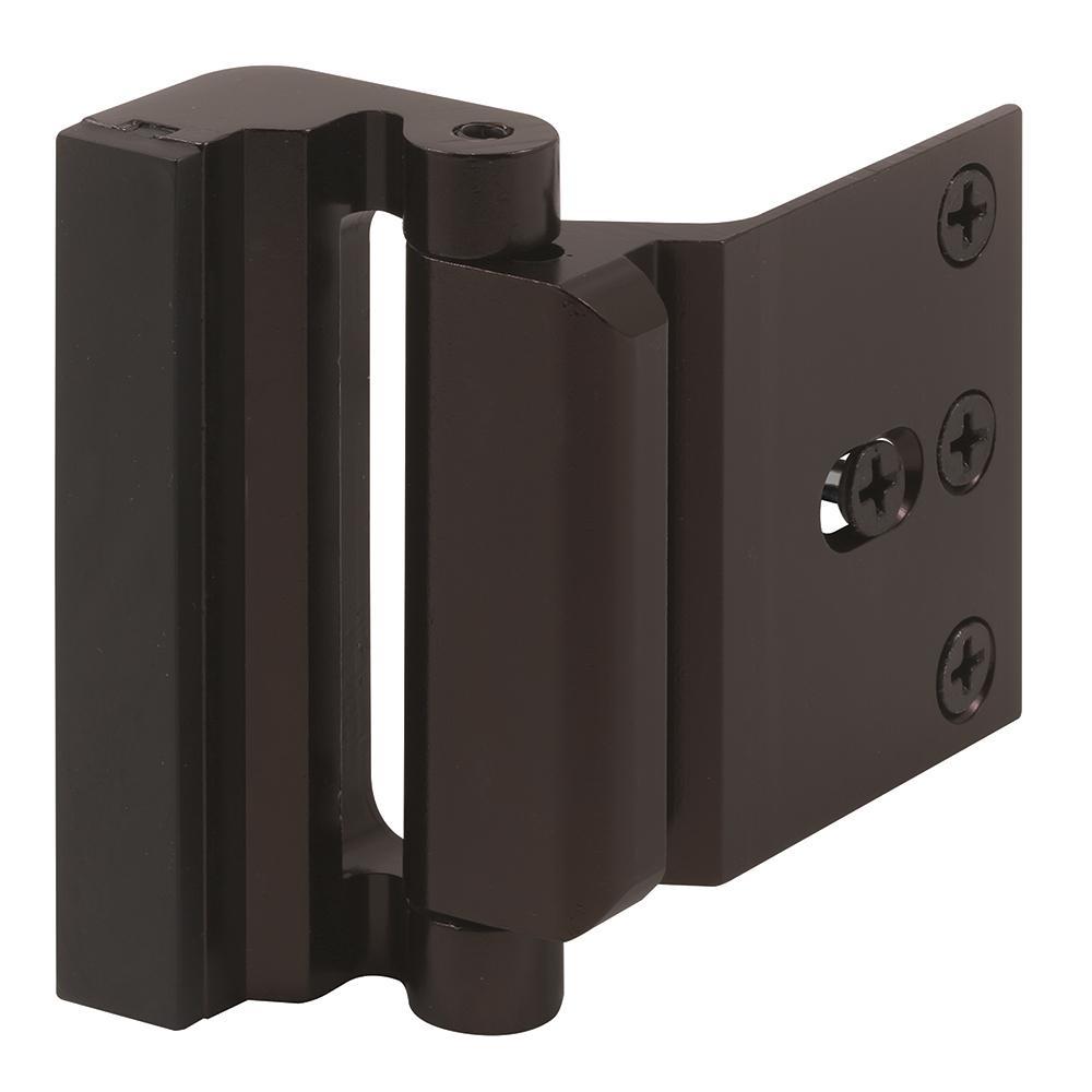 Bronze Anodized Blocker Entry Door Stop