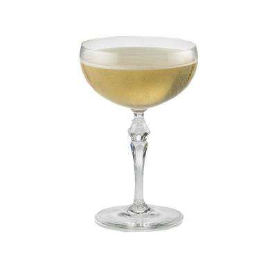 8.75 oz. Fusion Deco Champagne Coupe Glasses