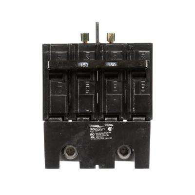 150 Amp 4-Pole Type QPPH 22kA Bolt-on Circuit Breaker