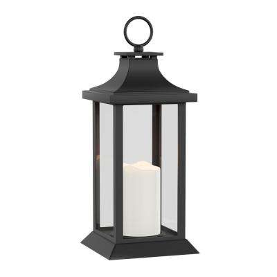 Vintage-Style Lantern and Flameless Candle