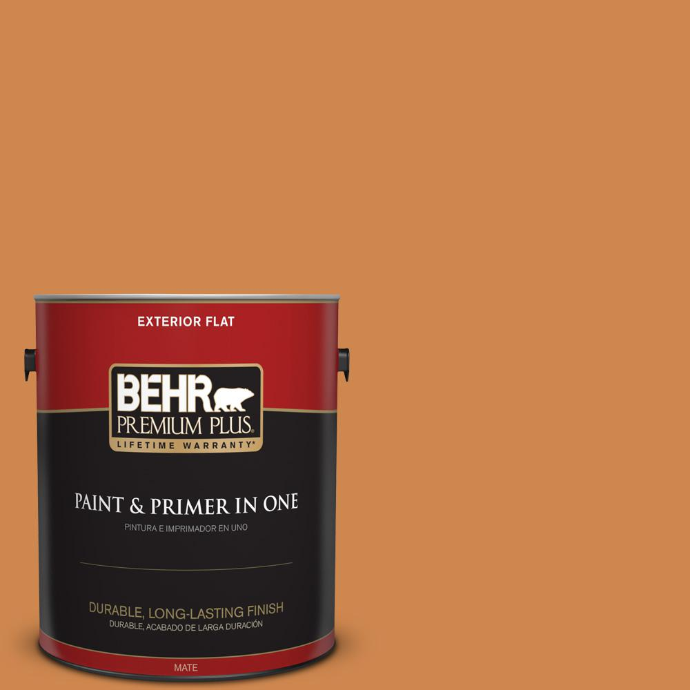1 gal. #PPU3-03 Flaming Torch Flat Exterior Paint