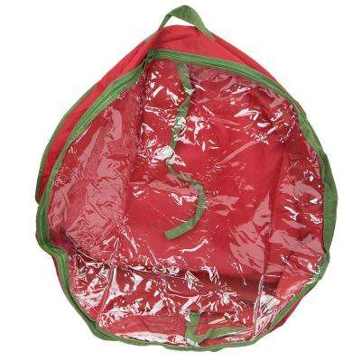 Red Textured PVC for Wreaths up to 30 in.