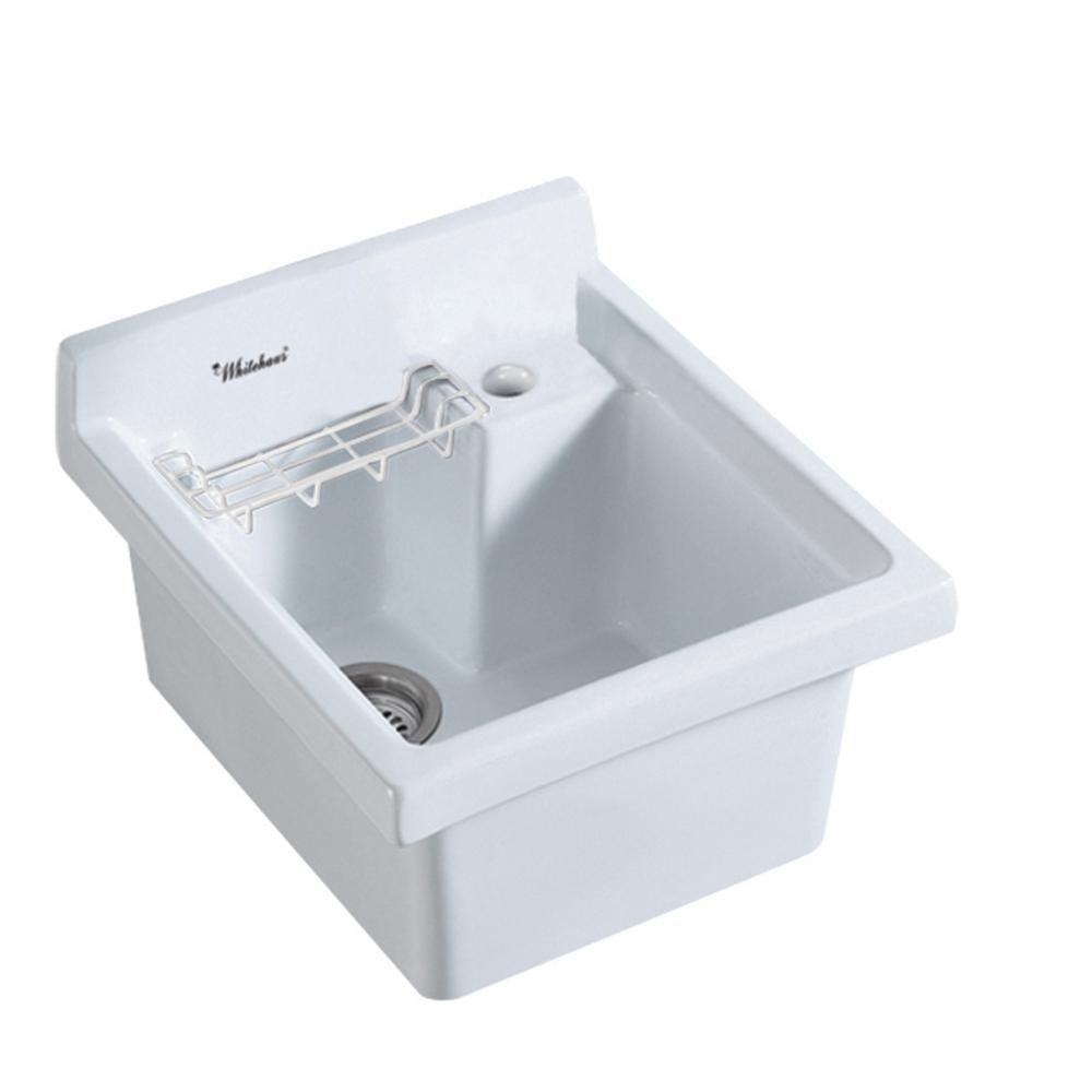 Vitreous China - Kitchen Sinks - Kitchen - The Home Depot