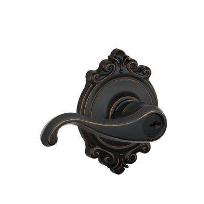 Brookshire Collection Aged Bronze Callington Keyed Entry Lever