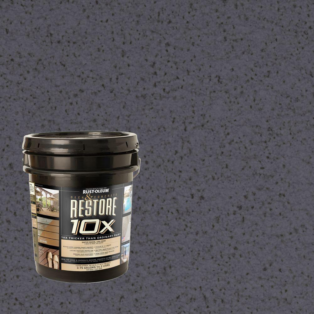 Rust-Oleum Restore 4-gal. Carbon Deck and Concrete 10X Resurfacer
