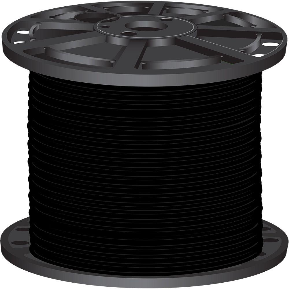 2,500 ft. 3 Black Stranded CU SIMpull THHN Wire