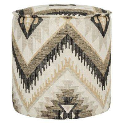 Kumani Tribal Design Accent Ottoman