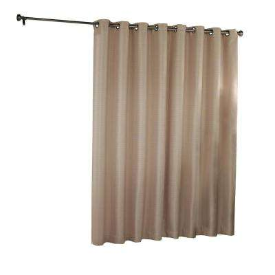 Bryson Blackout Patio Door Window Panel in Wheat - 100 in. W x 84 in. L
