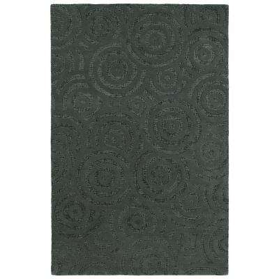 Stesso Charcoal 8 ft. x 10 ft. Area Rug