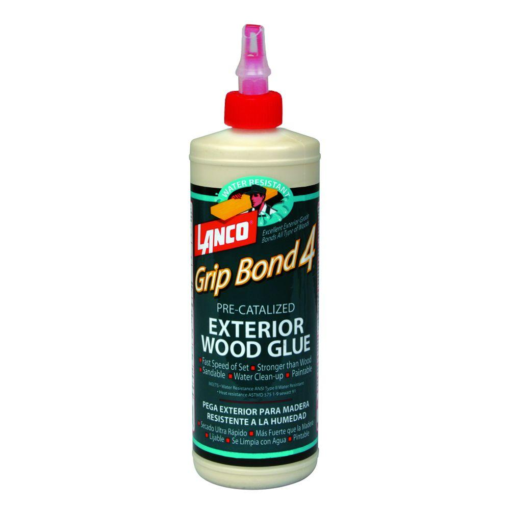 Grip Bond Four 16 fl. oz. Pre-Catalyzed Exterior Wood Glue