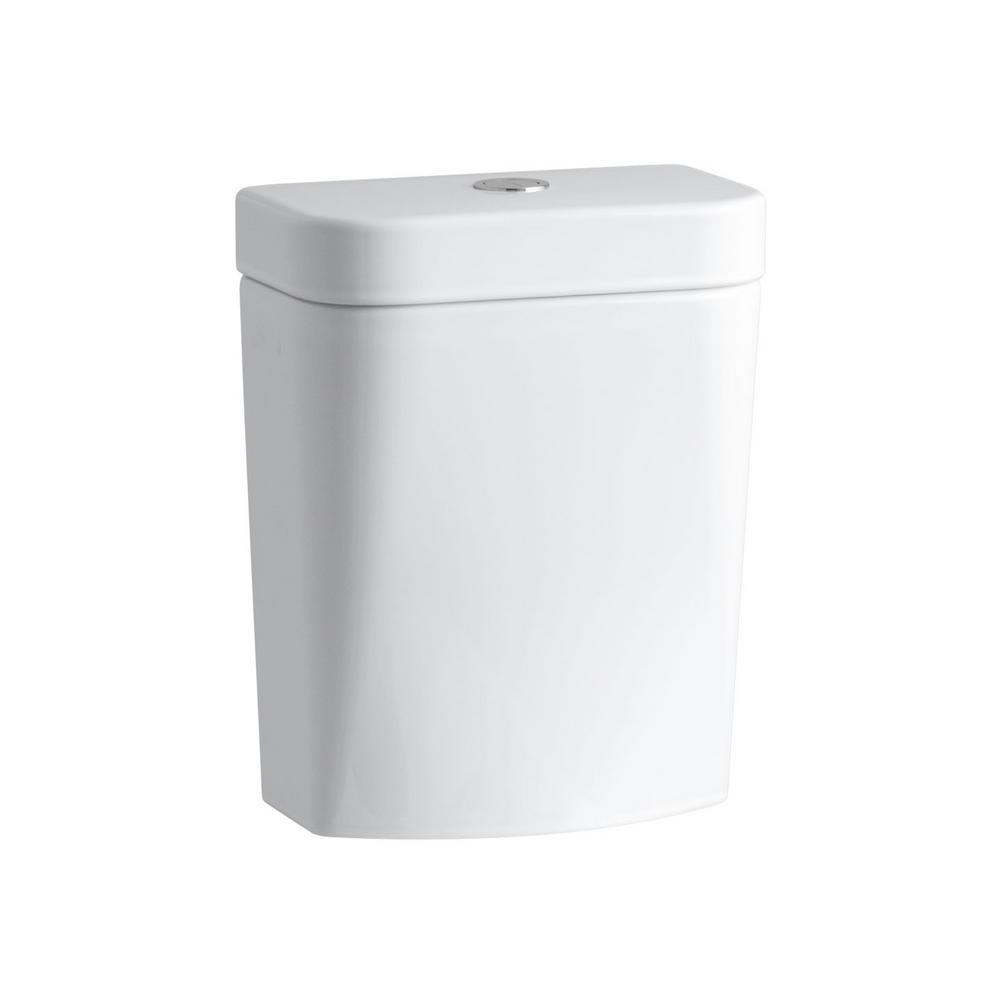 Persuade Circ 1.0/1.6 GPF Dual Flush Toilet Tank Only in White