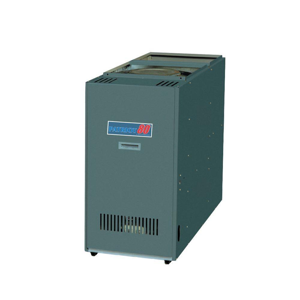Patriot 80 84% AFUE 95,000 BTU Output Lowboy Rear Flue Oil Hot Air Furnace