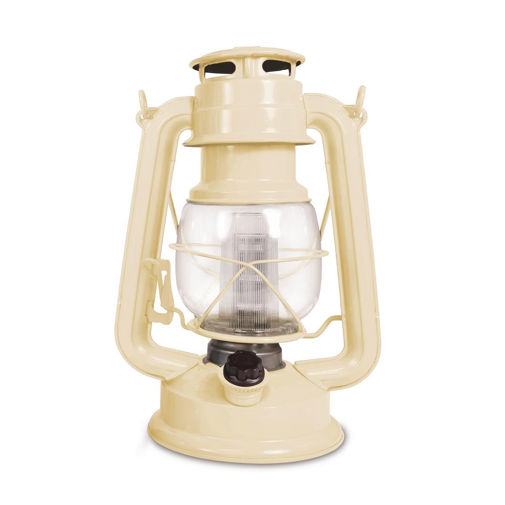 150-Lumen Vintage Sand Castle Battery Operated 12 LED Lantern