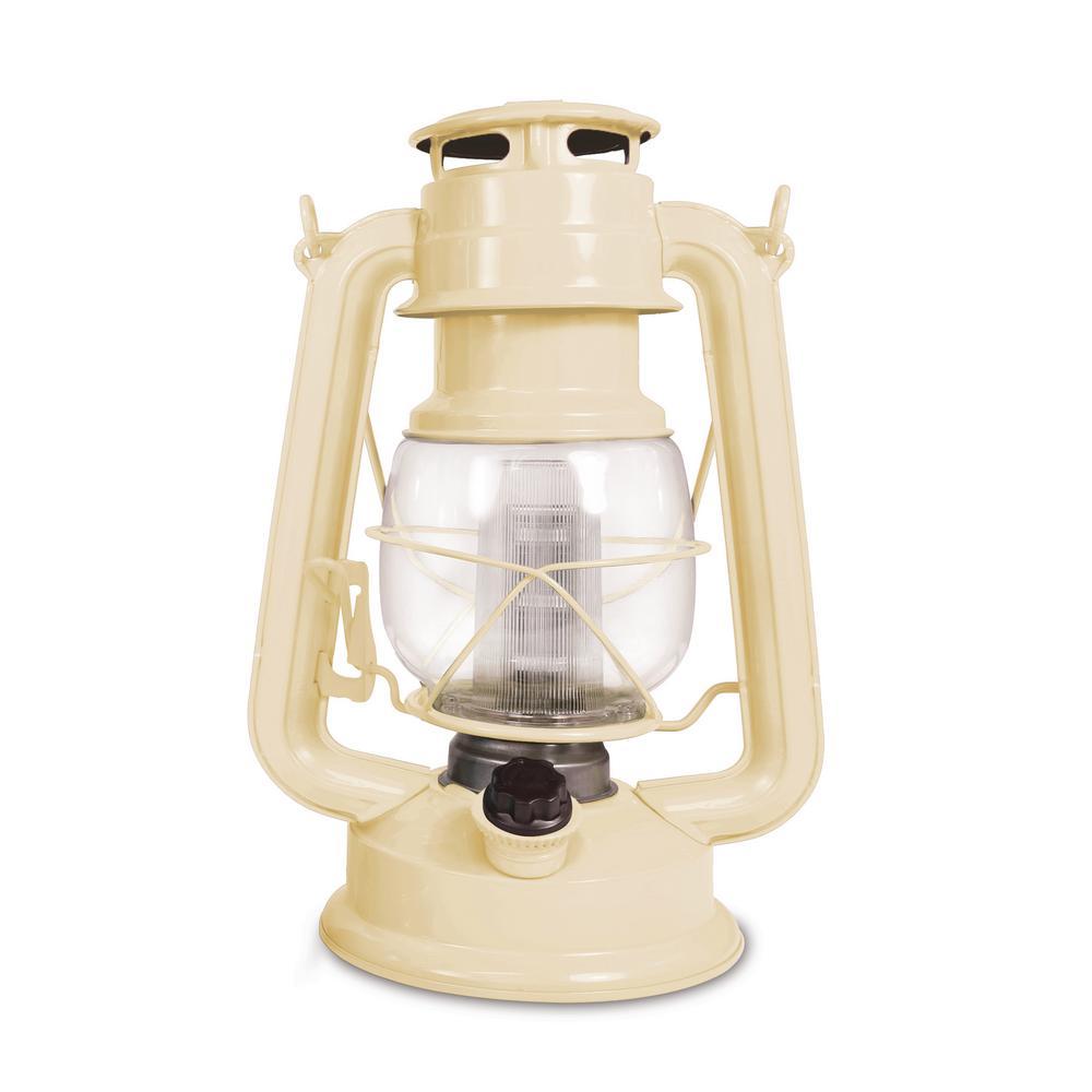 150-Lumen Vintage Sand Castle Battery Operated 12 LED Lantern