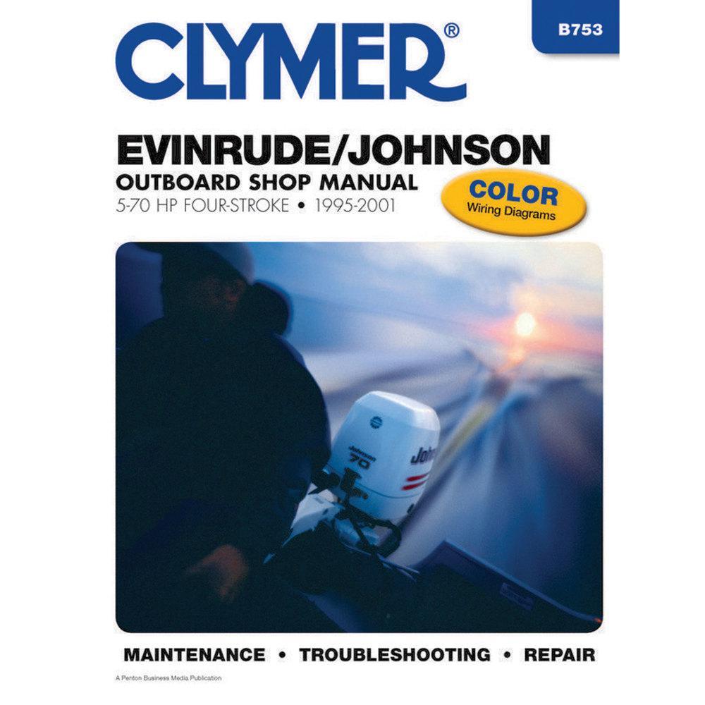 Includes Jet Drive Models 1994-1997 Clymer Manuals B724 Mercury//Marirner Outboard Shop Manual 75-275HP Two-Stroke