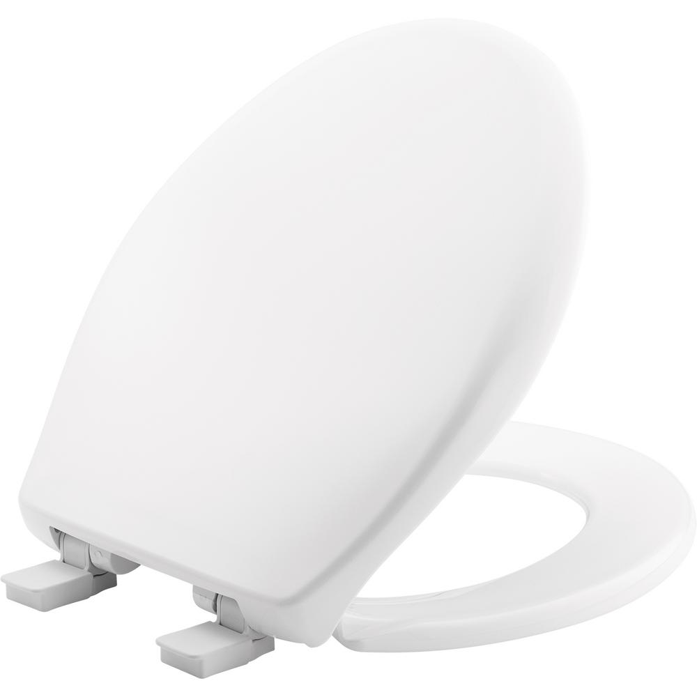 Bemis Affinity Round Closed Front Toilet Seat In White