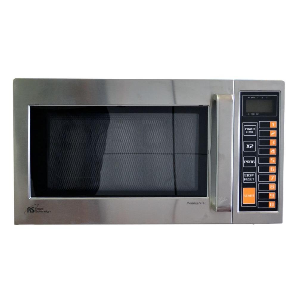 0.9 cu. ft. 1000-Watt Countertop Commercial Microwave in Stainless Steel