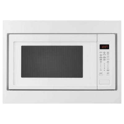 2.2 cu. ft. Countertop Microwave with Greater Capacity in White