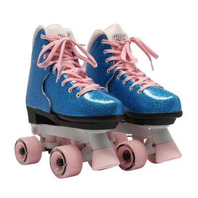 Girls Size 3-7 Bling Bubble Gum Skates