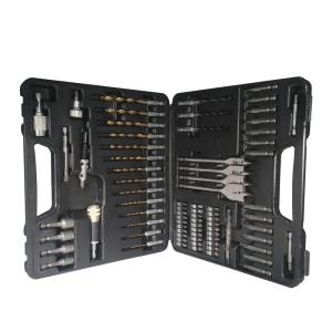 Click here to buy BLU-MOL Steel Quick Change Drill Bit and Drive Set (83-Piece) by BLU-MOL.