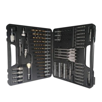 Steel Quick Change Drill Bit and Drive Set (83-Piece)