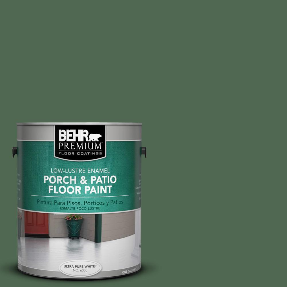 1 gal. #S390-7 Trailing Vine Low-Lustre Interior/Exterior Porch and Patio Floor Paint